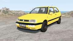 Volkswagen Golf 3-door (Typ 1H) 1995 für BeamNG Drive