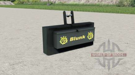 Blunk weight pour Farming Simulator 2017