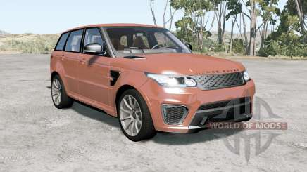 Range Rover Sport SVR 2015 pour BeamNG Drive