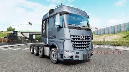 Mercedes-Benz Arocs 4163 SLT 2014 v1.6.3 pour Euro Truck Simulator 2