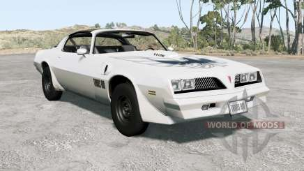 Pontiac Firebird Trans Aᵯ 1977 pour BeamNG Drive