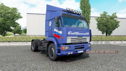 Kamaz-5ꝝ60 pour Euro Truck Simulator 2