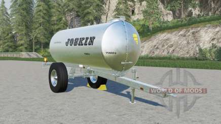 Joskin AquaTrans 7300 S milk & water für Farming Simulator 2017