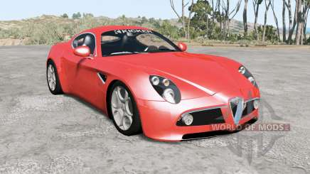 Alfa Romeo 8C Competizione für BeamNG Drive