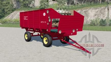 KTU-10 v2.Null für Farming Simulator 2017