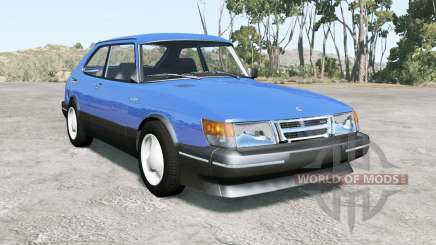 Saab 900 Turbo 3-door 1987 pour BeamNG Drive