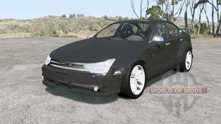 Ford Focus sedan (NA2) 2008 v1.11 für BeamNG Drive