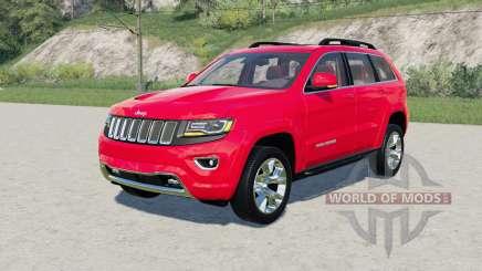 Jeep Grand Cherokee Limited (WK2) 2014 für Farming Simulator 2017