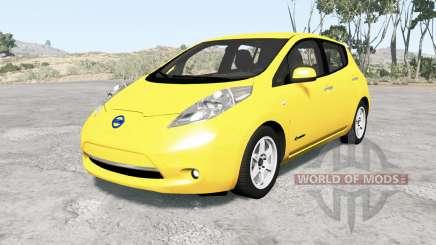 Nissan Leaf 2014 v1.1 pour BeamNG Drive