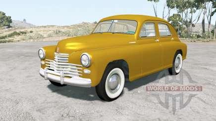 Gaz M-20 Victoire 1949 pour BeamNG Drive