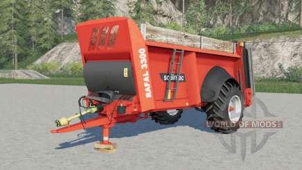 Sodimac Rafal 3ろ00 pour Farming Simulator 2017