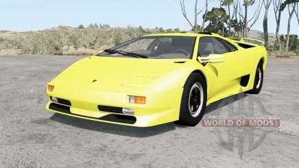 Lamborghini Diablo SV 1998 pour BeamNG Drive