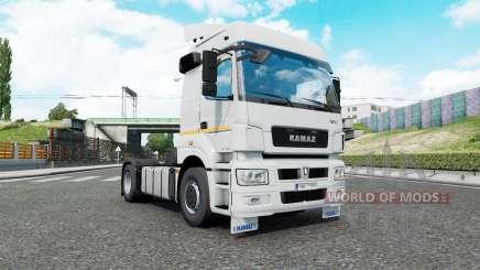 Kamaz 5490 et 65206 pour Euro Truck Simulator 2