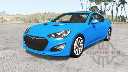 Hyundai Genesis coupe 2013 v1.1 für BeamNG Drive