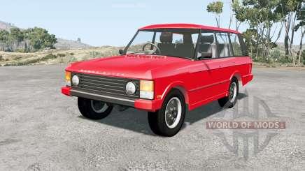 Range Rover 5-door 1981 pour BeamNG Drive