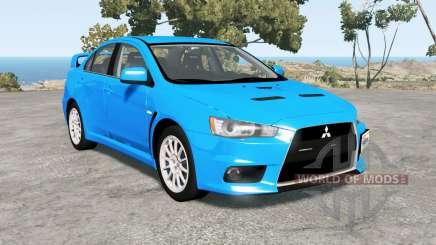 Mitsubishi Lancer Evolution X GSR (CZ4A) für BeamNG Drive