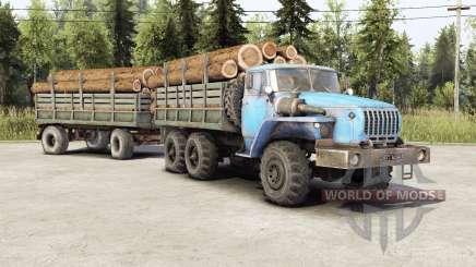 Ural-4320-10 ⱱ2.0 für Spin Tires