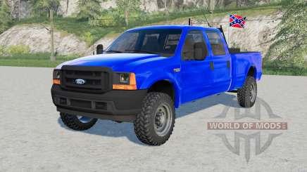 Ford F-250 Super Duty XL Double Cab 2002 pour Farming Simulator 2017