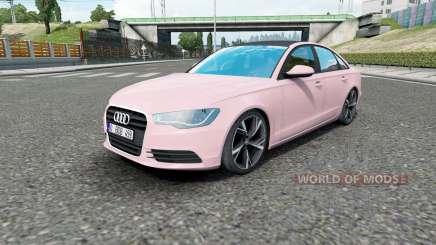 Audi A6 sedan (C7) 2011 pour Euro Truck Simulator 2