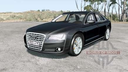 Audi A8 L quattro (D4) 2010 für BeamNG Drive