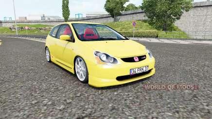 Honda Civic Type-R (EP3) 2004 pour Euro Truck Simulator 2
