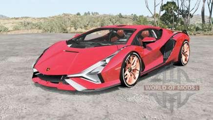 Lamborghini Sian FKP 37 2019 pour BeamNG Drive