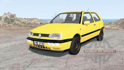 Volkswagen Golf 3-door (Typ 1H) 1995 pour BeamNG Drive