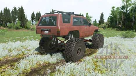 Toyota 4Runner (LN61) lifted pour Spintires MudRunner