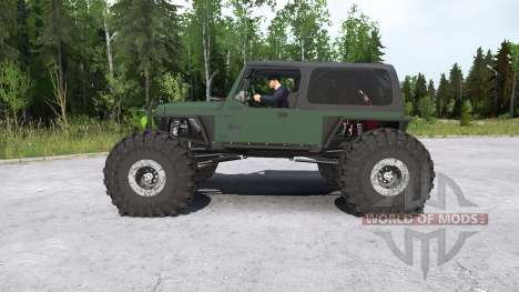 Jeep Wrangler crawler pour Spintires MudRunner