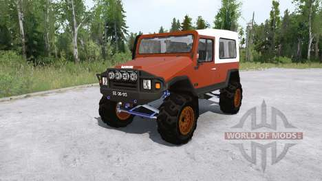 UMM Alter II lifted pour Spintires MudRunner