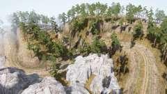 Nehmen Sie den Wald 10 für MudRunner