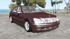 Mercedes-Benz S 600 (W220) 2005 pour BeamNG Drive