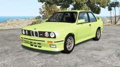 BMW M3 coupe (E30) 1990 v1.18 für BeamNG Drive