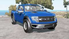 Ford F-150 SVT Raptor SuperCab 2013 pour BeamNG Drive