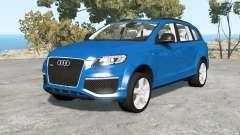 Audi Q7 V12 TDI quattro (4L) 2009 pour BeamNG Drive