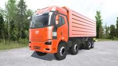 FAW Jiefang J6P 8x8 Dump Truck pour MudRunner