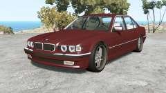 BMW 750iL (E38) 1998 v1.18 pour BeamNG Drive