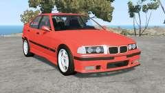 BMW M3 sedan (E36) 1997 v1.18 pour BeamNG Drive