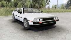DeLorean DMC-12 pour Spin Tires