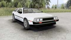 DeLorean DMC-12 für Spin Tires