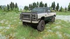 Dodge Power Ram 250 Club Cab 1990 für MudRunner