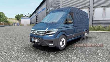 Volkswagen Crafter High Roof Van 2018 pour Euro Truck Simulator 2