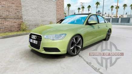Audi A6 sedan (C7) 2011 für American Truck Simulator
