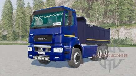 Kamaz-6520 für Farming Simulator 2017