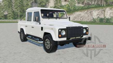 Land Rover Defender 110 Double Cab Pickup für Farming Simulator 2017