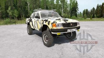 Gaz-31029 Volga 4x4 pour MudRunner