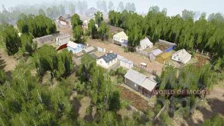 Ural 10: Dorf v1.1 für MudRunner