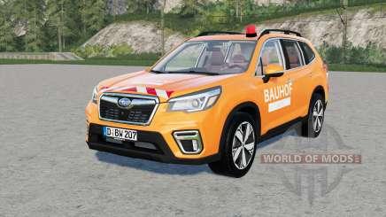 Subaru Forester Bauhof Weber für Farming Simulator 2017