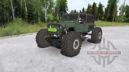 Jeep Wrangler crawler pour MudRunner