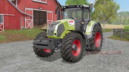 Claas Axion 810〡830〡৪50 pour Farming Simulator 2017
